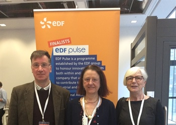 Winners of the EDF Energy Pulse Award for 'Inpection of nuclear generation assets'