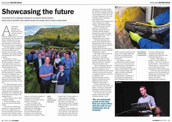 REACH featured in in-cumbria magazine